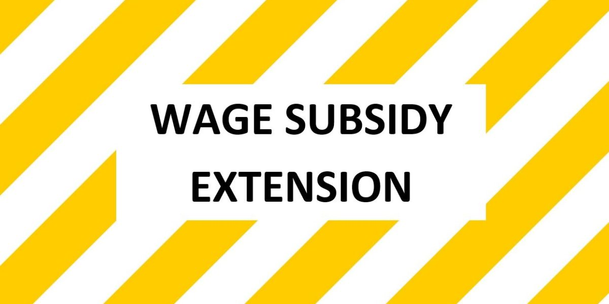 Wage Subsidy Extension